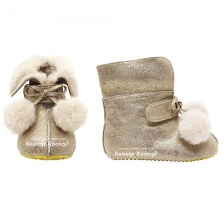 Winter Lauflernschuhe _ Petit Boots (Gold)