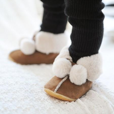 Winter Lauflernschuhe _ Petit Boots (Braun)