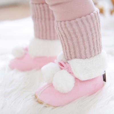 Winter Lauflernschuhe _ Petit Boots (Baby Pink)